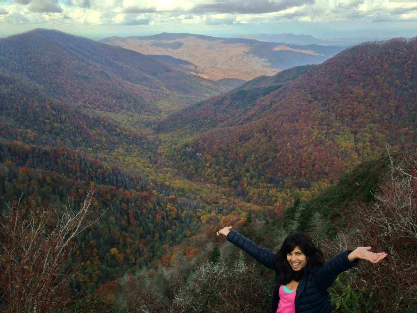 Feeling the Fall in The Great Smoky Mountains