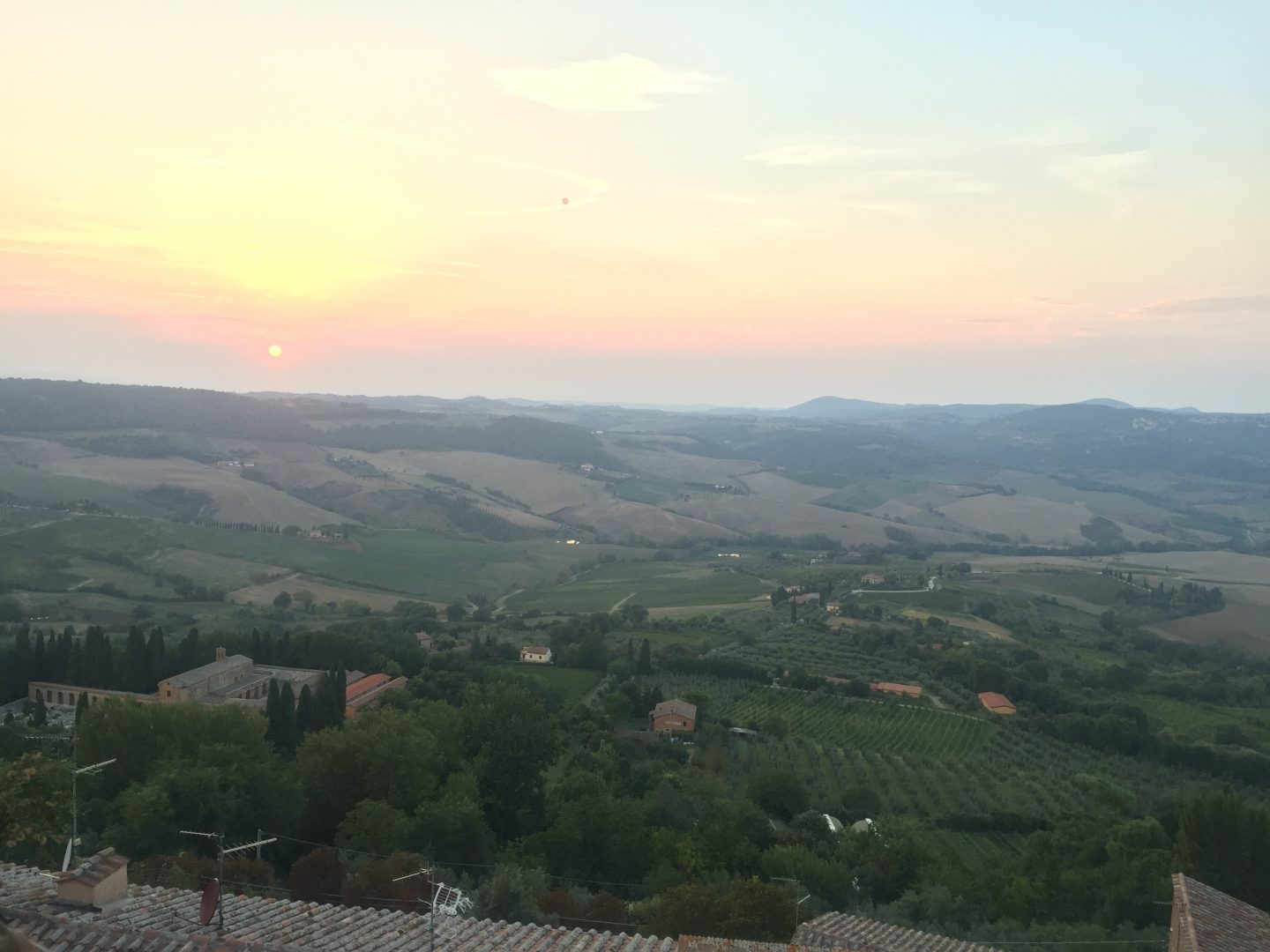 Honeymoon in the Tuscan Countryside