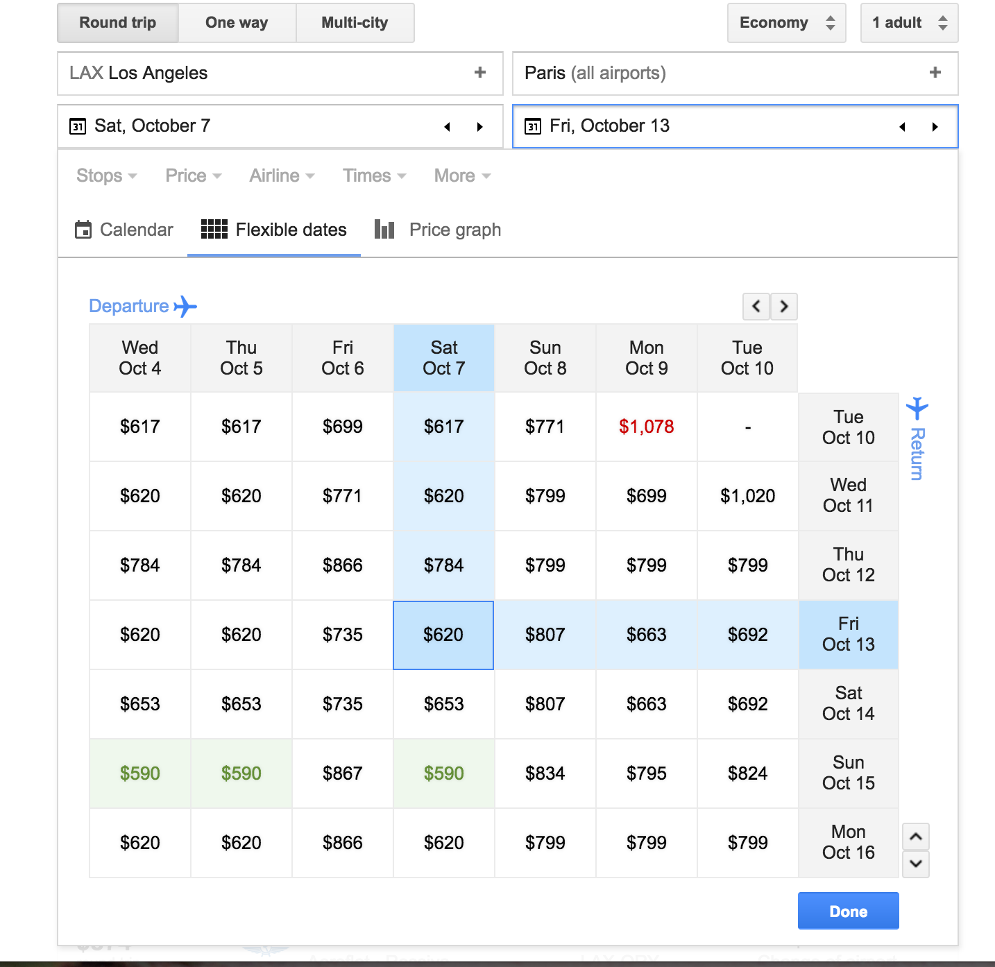 GoogleFlights_CheapestFares