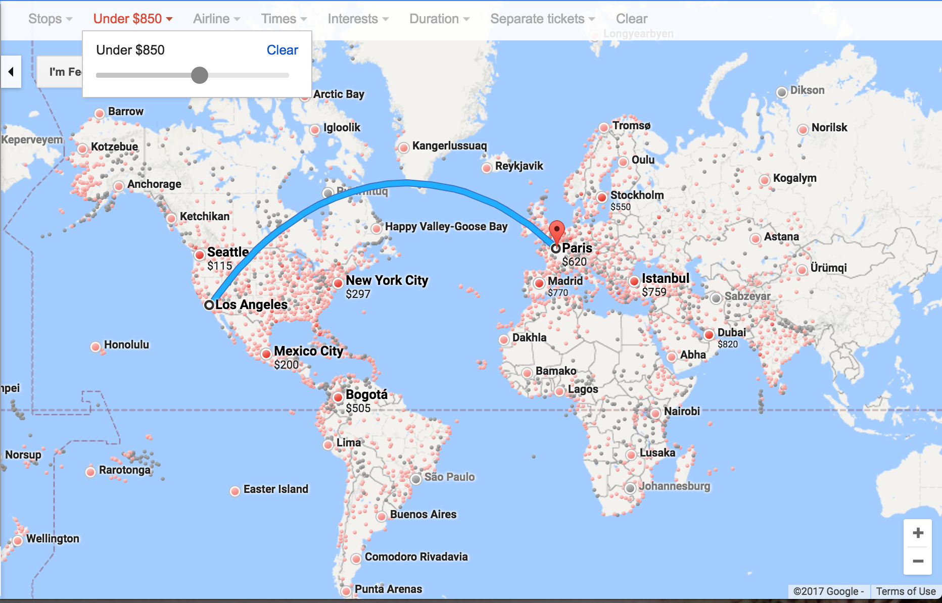 GoogleFlights_Map_PriceLevel