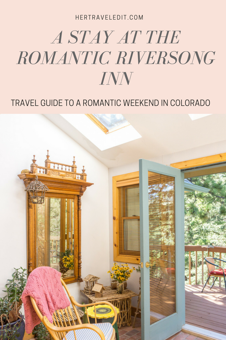 Where to Stay in Estes Park : The Romantic RiverSong Inn