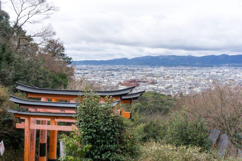 Fushimi Inari Hike Views