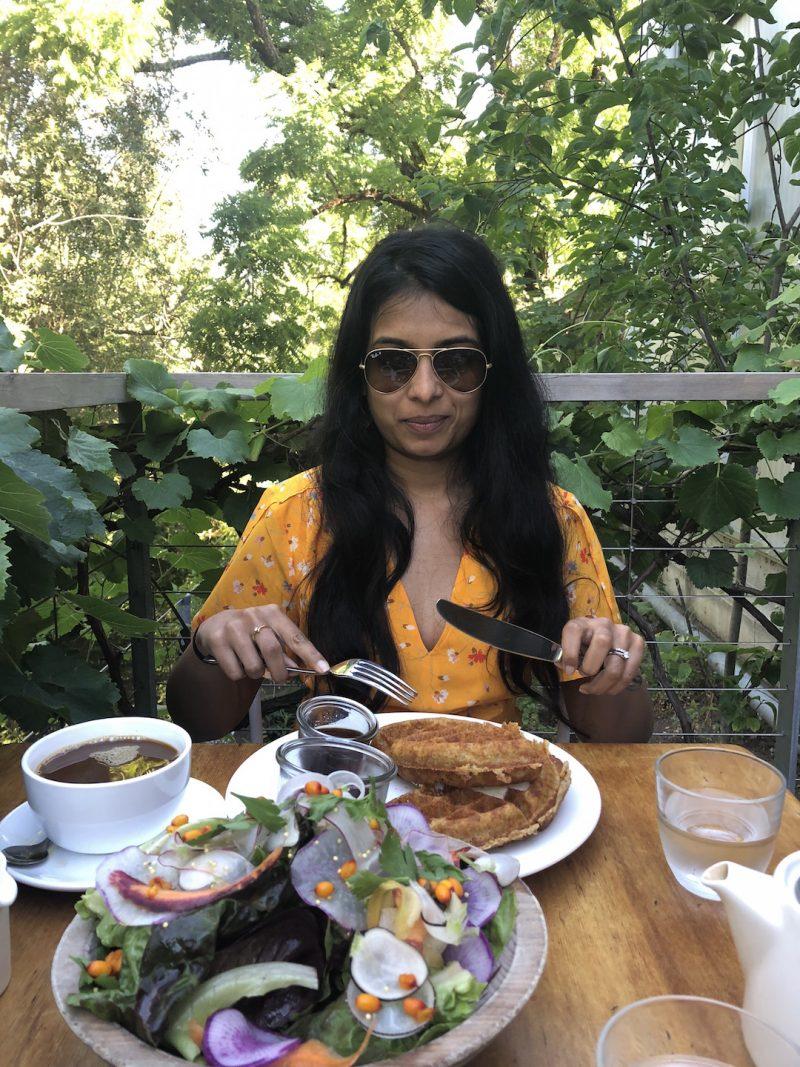 Breakfast in Healdsburg