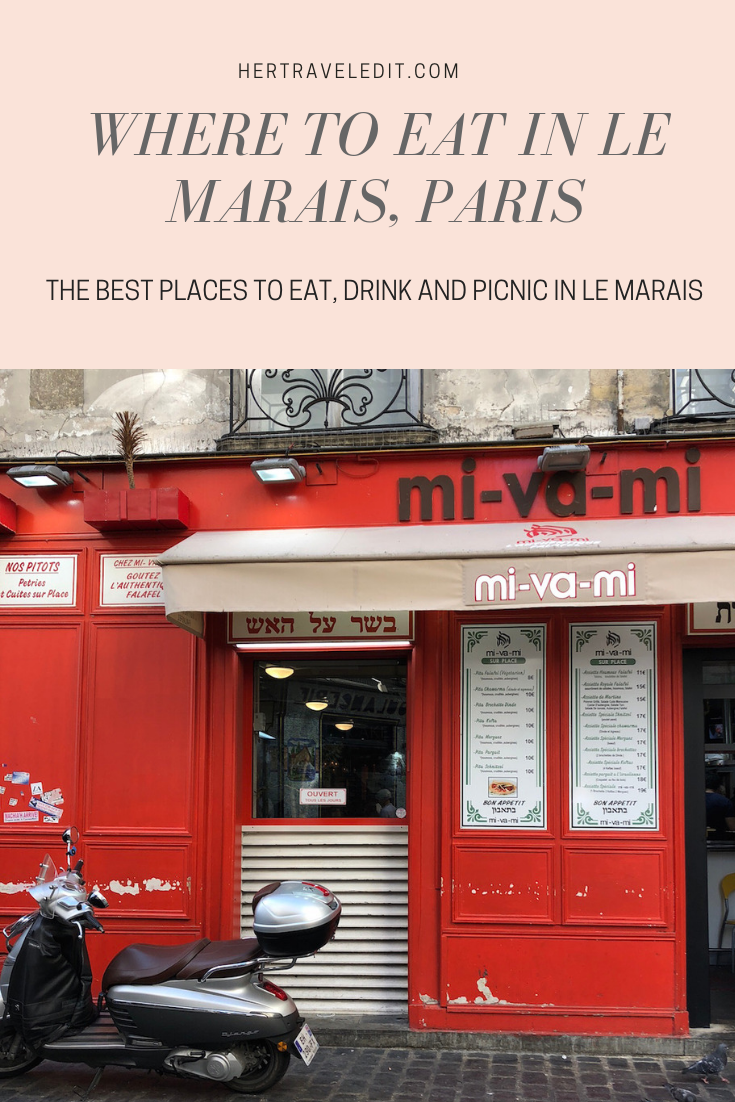 The best places to eat, drink and picnic in Le Marais, Paris