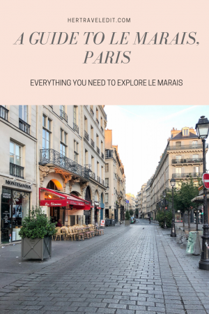 A Comprehensive Guide to the lovely Le Marais district in Paris