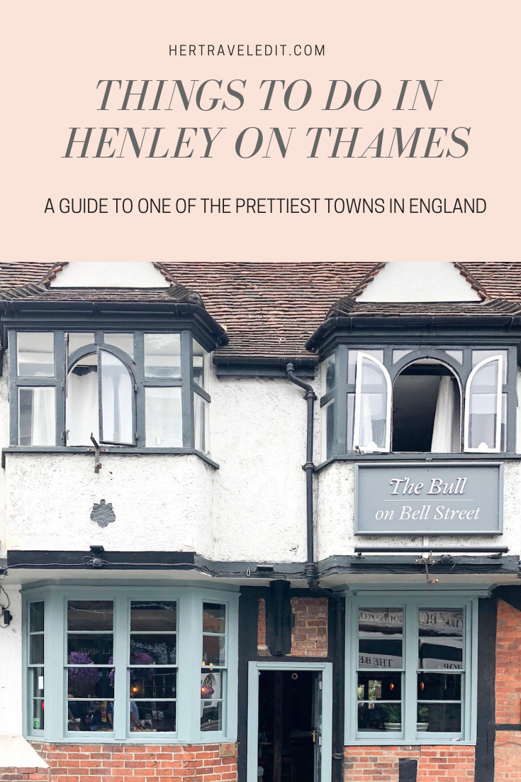 What to Do in Henley on Thames, one of the prettiest villages in England