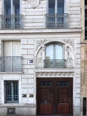 Classic Parisian Door