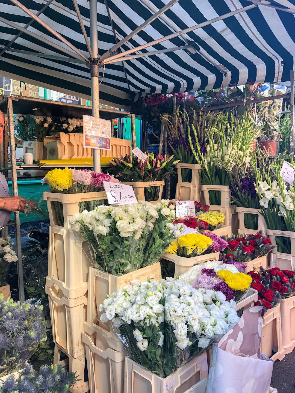 Columbia Flower Market in London