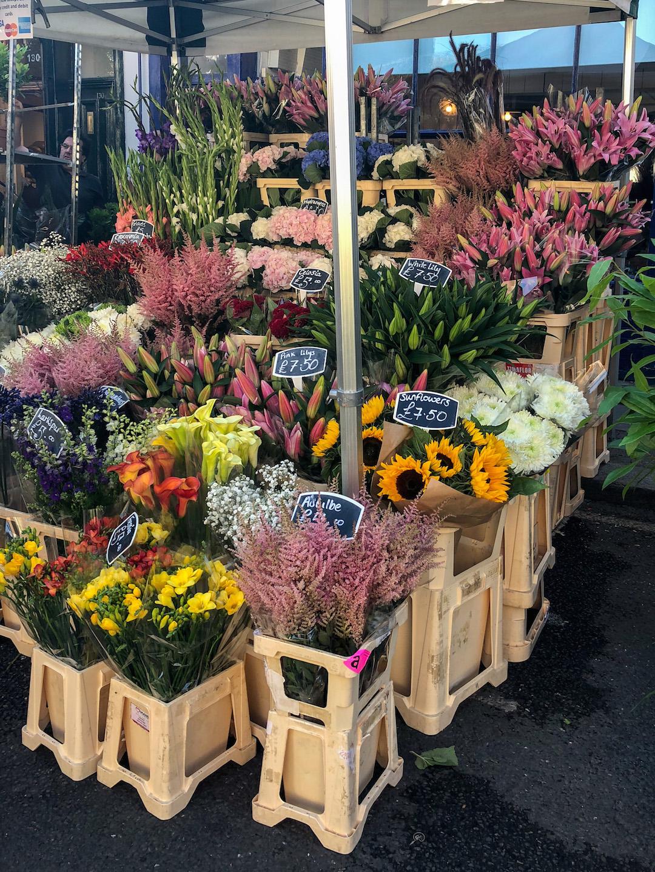 London Columbia Flower Market Flowers