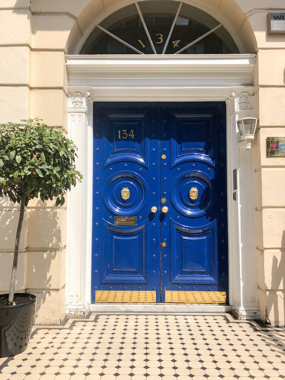 London Harley Street Door
