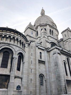 Montmarte Sacre Coeur Side View