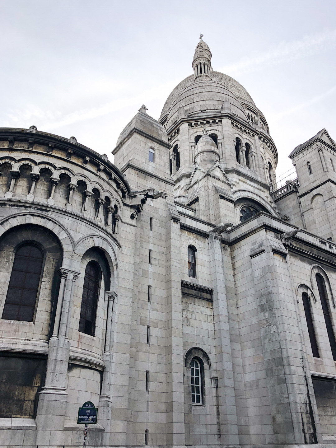 Montmarte Sacre Coeur Side View
