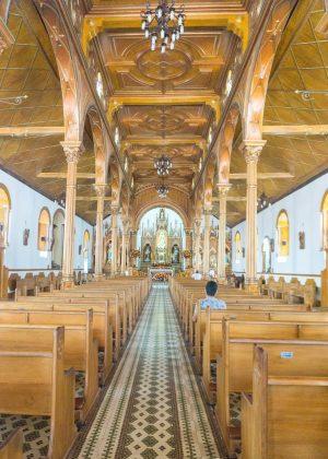 Guatape Church Interior