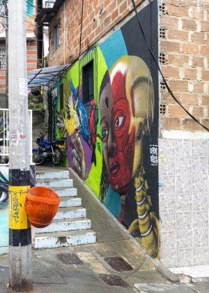 Street Art in Communa 13 Medellin