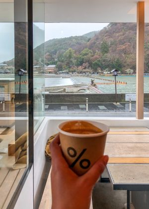 Percent Arabiaca Cofee in Arashiyama