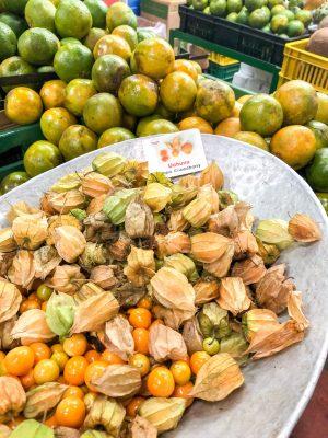 Fruits at Minorista Market Medellin