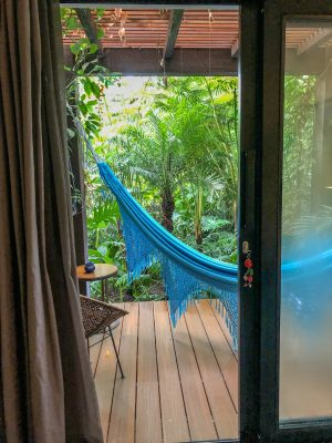 Patio del Mundo Cartagena room balcony