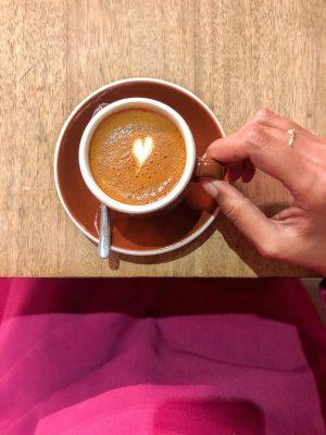 Coffee at Pergamino Cafe