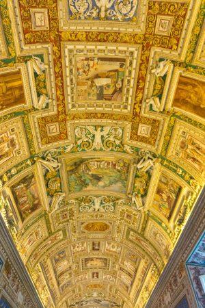 Beautiful ceilings in the Vatican