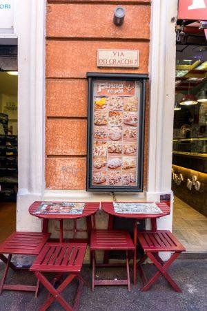 Pinsa M Po Pizza in Rome