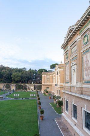 Vatican Museums Inside Courtyards