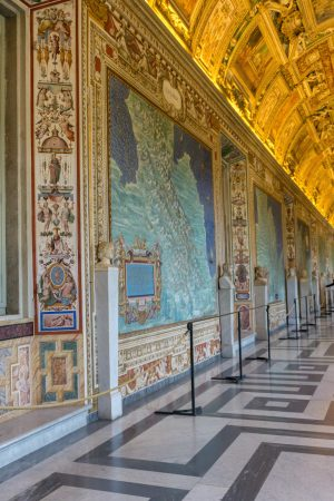 Maps room in the Vatican