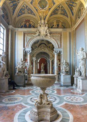 Beautiful room in the Vatican