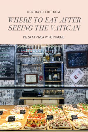 Where to Eat after Visiting the Vatican - avoid the tourist traps