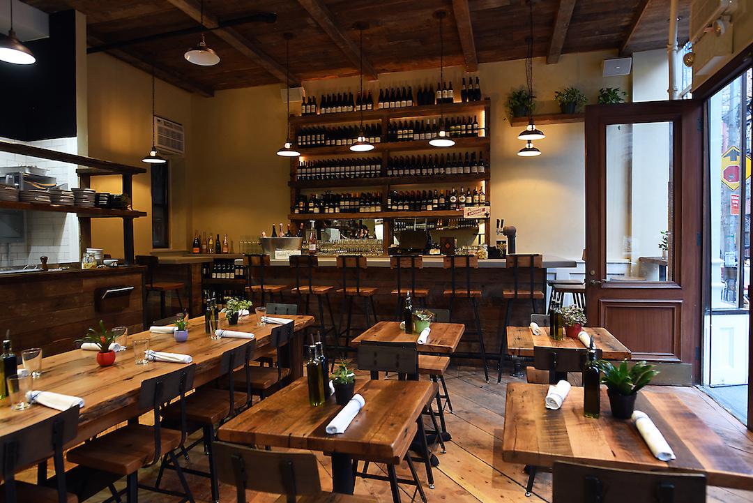 St Tropez Int w Bar by Michael Tulipan