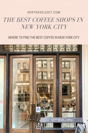 The Ten Best Coffee Shops in Manhattan, New York City
