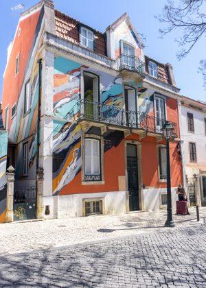 Artistic Building in Cascais Portugal