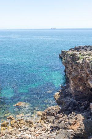 Coast of Cascais Portugal