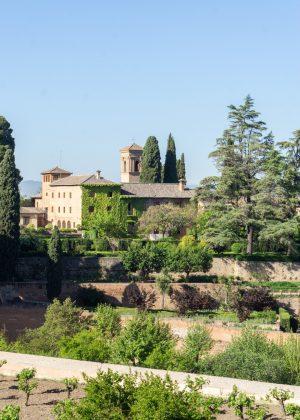 Garden in the Alhambra Granada