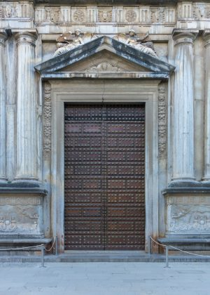 Pretty Door at the Alhambra in Granada