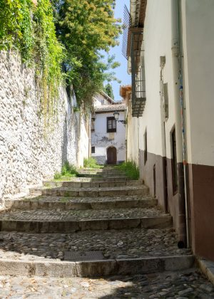 Stairs in Granada