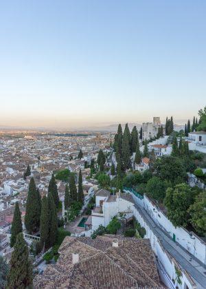 Views of Granada