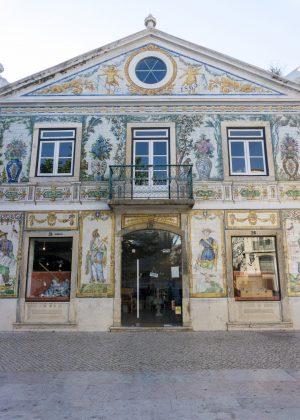 Artsy Building in Lisbon
