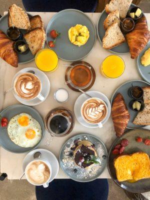 Breakfast at Dear Breakfast in Lisbon