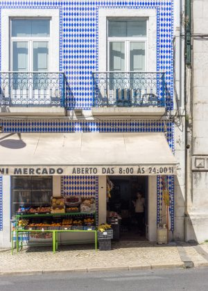 Tiled Market in Lisbon