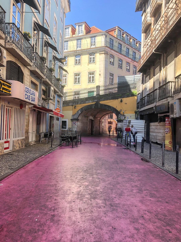 Her_Travel_Edit_Lisbon_Pink_Street