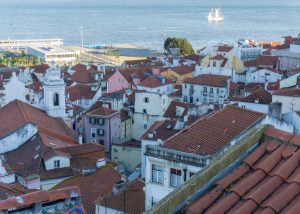 Red Rooftops of Lisbon