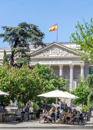 Outdoor Dining in Madrid