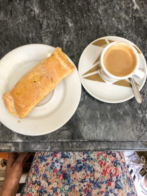 A pastry in Sintra