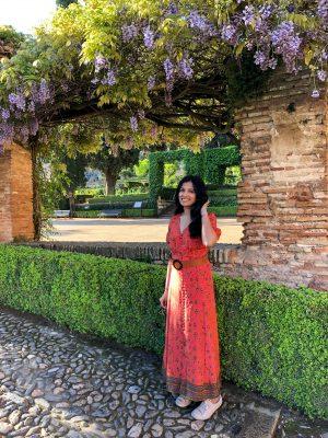 Her Travel Edit at Alhambra Garden