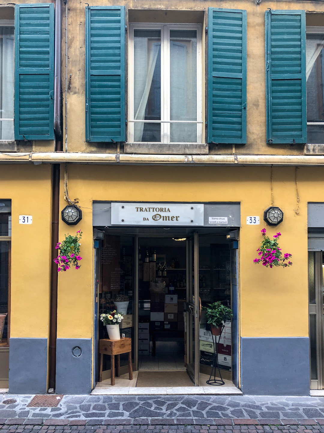 A Cute Restaurant in Modena