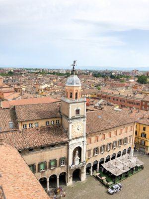 Views from the Torre Ghirlandina, Modena