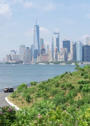 View of NYC from Governors Island