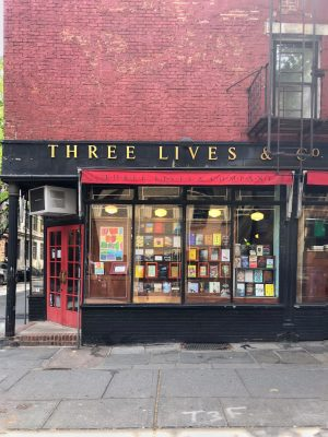 Three Lives and Co. Bookstore in NYC