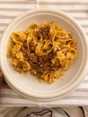 Pasta Making with Bologna Gourmet in Bologna - Tagliatelle Ragu