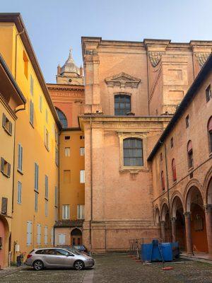Alley in Bologna